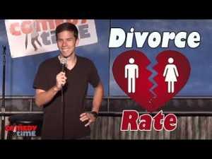 Comedy Time - Stand Up Comedy by Jon DeWalt - Divorce Rate