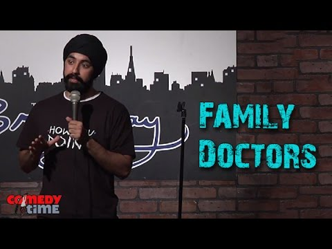 Comedy Time - Funny videosStand Up Comedy by Manvir Singh - Family Doctors