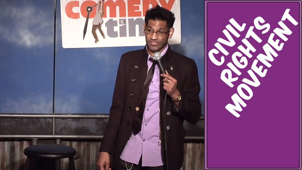 Comedy Time - Funny videosStand Up Comedy by Jay Mandyam - Civil Rights Movement